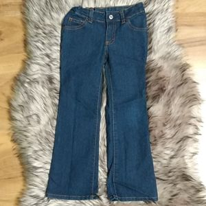 Girl's Faded Glory Bootcut Jeans 5 Slim